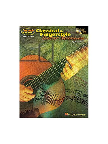 david-oakes-classical-and-fingerstyle-guitar-techniques-partitions-cd-pour-tablature-guitare