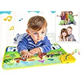 SMTSMT Hot Kids Baby Zoo Animal Musical Touch Play Singing Carpet Mat Toy