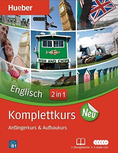 Komplettkurs Englisch Neu: Paket: 2 Übungsbücher + 5 Audio-CDs (Komplettkurs Neu)