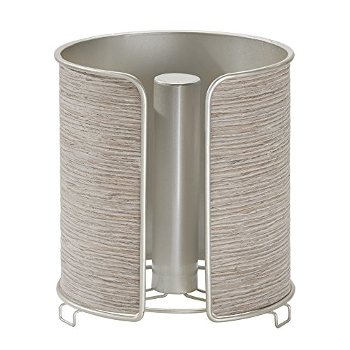 interdesign-realwood-paper-towel-holder-for-kitchen-countertops-satin-gray-wood-finish