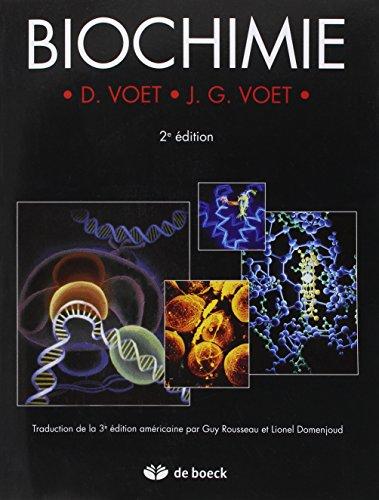 Biochimie par Donald Voet