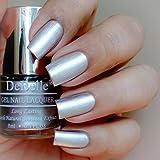 #9: DeBelle Metallic Silver Nail Polish 8 ml - (Chrome Silver)