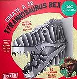 Create a 3D T. rex: 1