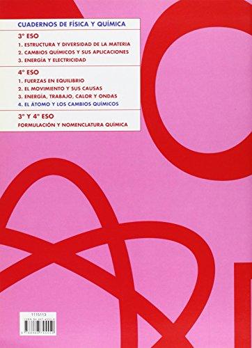 Cuaderno 4. El átomo y los cambios químicos - 9788466745550