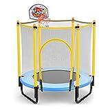 Trampoline Faltendes Basketballkorb - Meine erste Indoor/Outdoor-Einstiegs-Sprungmatte für Kinder 48