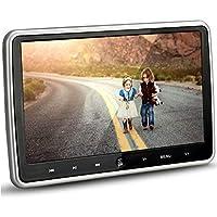 Hengweili reposacabezas Coche Reproductor de DVD Monitor Pantalla LCD 10,1 Pulgadas HDMI 1024 x