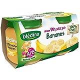 Blédina mon 1er petit pot banane 2x130g dès 4/6 mois - ( Prix Unitaire ) - Envoi Rapide Et Soignée
