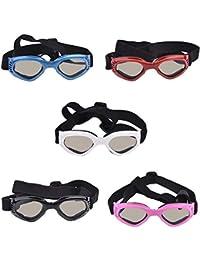 Somedays Gafas de Sol para Mascotas Gafas para Perros Gafas Protectoras Protección contra los Ojos Protección UV Fotos de Mascotas Accesorios
