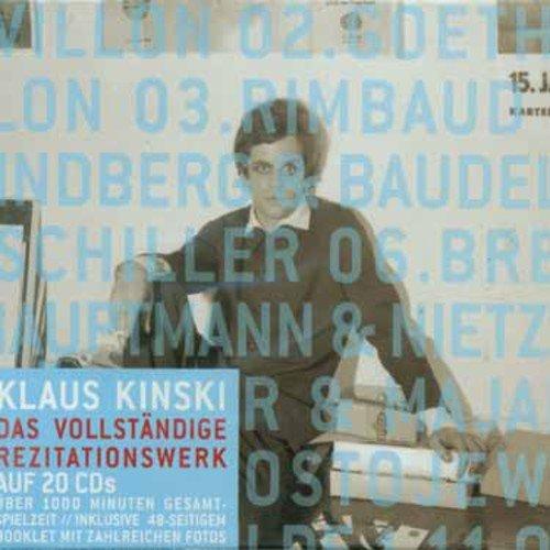 Kinski spricht Werke der Weltliteratur - Das vollständige Rezitationswerk (Deutsche Grammophon Literatur)