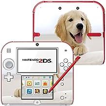Colección 146, Custom Consola Nintendo DS Lite, 3DS, 3DS XL, Wii U Diseño Pantalla Skin Protector Funda Hunde 067 Nintendo 2DS Designfolie