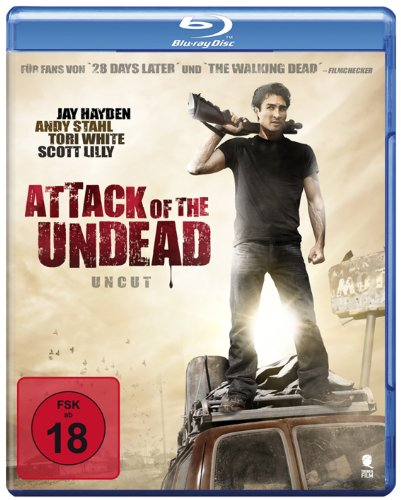 Attack of the Undead (Uncut) [Blu-ray]
