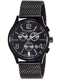 Akribos XXIV Analog Black Dial Men's Watch - AK719BK