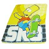 I Simpson Bart Simpson Copriletto coperta per bambini