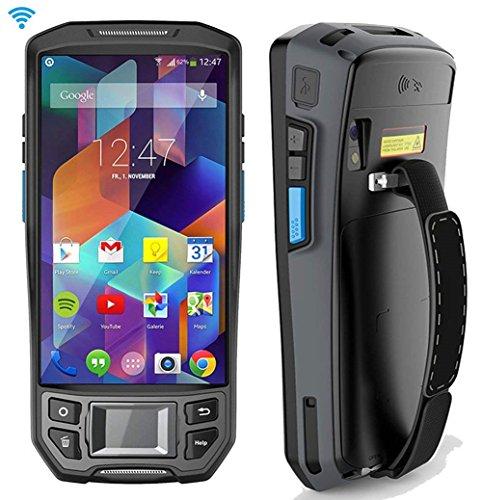 【Android 7.0】 3G 4G PDA Terminal mit Bluetooth Touchscreen und Honeywell Barcode-Scanner für 1D 2D PDF417