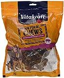 Vitakraft Hundesnack, Getrocknete Schweineohren, 100% Natursnack, Natural Chews