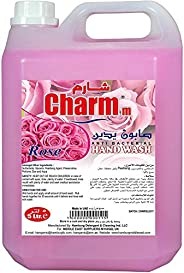 Charmm Anti-Bacterial Liquid Hand Soap Rose 5L