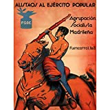 Wee Blue Coo War Spanish Civil Enlist Socialism Anti Fascist Spain PSOE Vintage Poster 2862PY