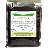 [Sponsored Products]Turtye® Cow Dung Manure For Gardening Plants - 100% Organic Fertilizer For Home Gardening Plant - 15 Kg's
