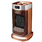 Riscaldatore elettrico del ventilatore di aria del ventilatore del mini 1800W 220V riscaldatore di riscaldamento del tavolo della stufa del riscaldamento della stufa per l'inverno del Ministero degli
