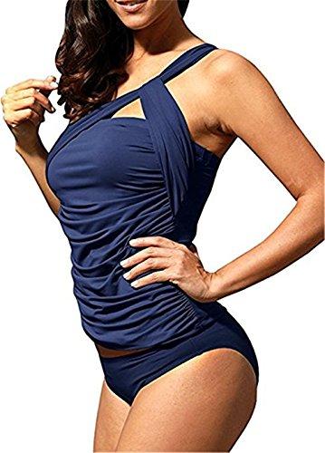 Shelers -  Tankini  - Donna blu navy