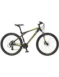 27.5 Mountain Bike MTB GT Aggressor Comp Black Neon Yellow Modelo 2016, color , tamaño 38 cm, tamaño
