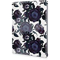 Flower Night Blue Rose Blossom Pattern Durable Hard Plastic Snap-On Plastic Tablet Case Cover For iPad Mini 4