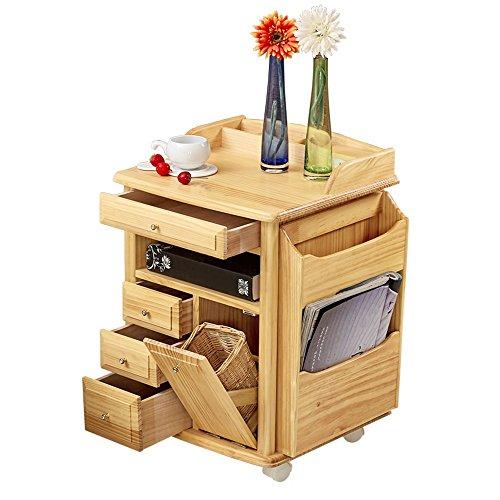 Nachttisch Sofa Beistelltische Massivholz Schlafzimmer Schrank Nachttisch Schubladen Schließfächer Mehrzweck-Aufbewahrungsschrank Schlafzimmer Nachttisch Moderne Schlafzimmermöbel Nachttisch -
