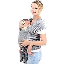 Écharpe porte-bébé en coton naturel, Écharpe de portage, ... e6e614ae667