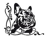 Autoaufkleber Französische Bulldogge *Jimmy*