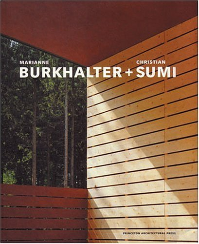 Marianne Burkhalter + Christian Sumi: Publications by Chrisitan Sumi (1999-12-01)