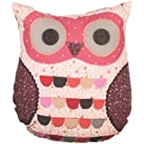 Sass & Belle Applique Owl Cushion - Wise Owl (With Inner)