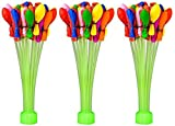 #4: Party Propz Magic Balloon, Water Balloons, Mix Color, Crazy Quick Fill In 60 Seconds 110 Baloons