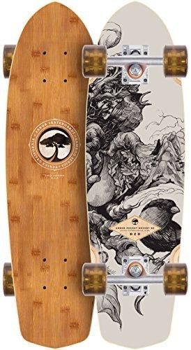 Arbor Pocket Rocket 2016 Bamboo Complete Mini Longboard Skateboard New On Sale by Arbor