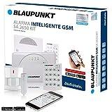 Blaupunkt série SA-Kit alarme GSM intelligente. Sans quotas mensuales, facile à installer, alarme pour votre maison ou entreprise. La ton alarme depuis ton Smartphone avec l'APP gratuit connect2home de blaupunkt, SA 2650, blanc, 1