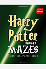 Harry Potter Inspired Mazes: Navigate your way through the labyrinths to locate the illustrations inspired by J.K Rowling's magical books in this unofficial collection Puzzle Book Paperback