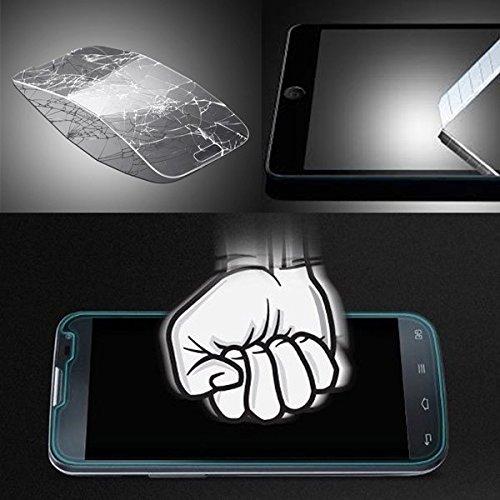 BeCool® - Display Schutzglas aus Premium Hartglas für ZTE Blade A510, ultraresistent gegen Kratzer und Stöße, 9H Härte