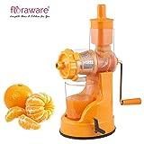 #8: Floraware Plastic Hand Juicer, 150ml, Orange