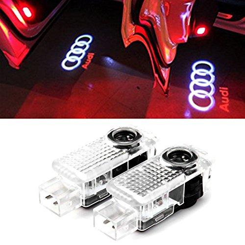 2 Stück Autotür Logo Türbeleuchtung Einstiegsleuchte Projektion Licht