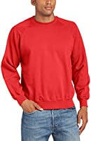 Fruit of the Loom Raglan Sweatshirt - Felpa a manica lunga da uomo