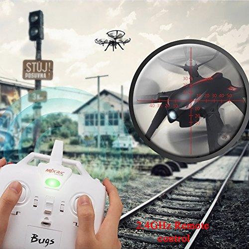 MJX B3 Profi Quadrocopter Drohne mit Aktionkamera-Halterung für Gopro Bürstlose Motoren 6A Elektrizitätsregulierung 2.4G Fernsteuer 4CH 6-Achsen Gyro 3D Rollen Funktion Drone für Profi Training Standard Version ohne Kamera und Gimbal - 3