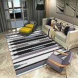 YAMI Salon Tapis De Sol Canapé Table Basse Moderne Chambre Minimaliste Couverture De Chevet Nordic Wind Tapis De Tapis (Couleur : B, Taille : 80 * 120CM)