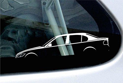 2 x Auto-motif silhouette pour bMW série 3 e90 série 4, 320i, 330i, 320d
