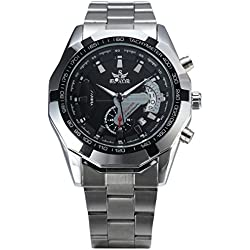 Men, mechanical watches, automatic, casual, personality, metal, W0241
