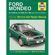 Ford Mondeo Petrol and Diesel Service and Repair Manual: 2000 to 2003 (Haynes Service and Repair Manuals)