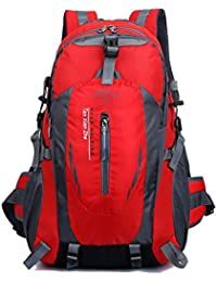 Bolso de montar a caballo de múltiples funciones montar colgante bolsa de viaje de deportes al aire libre doble hombro mochila bolsa impermeable , red