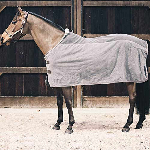 Kentucky Abschwitzdecke Fleece Farbe: grau Größe: 145