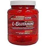 Hyper Strength L-Glutamine 1000 g Muscle Recovery Post-Workout Drink Powder