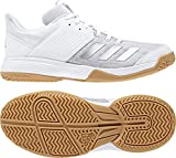 adidas Damen Ligra 6 Volleyballschuhe, Wei (FTWR White/Silver Met./Grey Two F17 FTWR White/Silver Met./Grey Two F17), 41 1/3 EU
