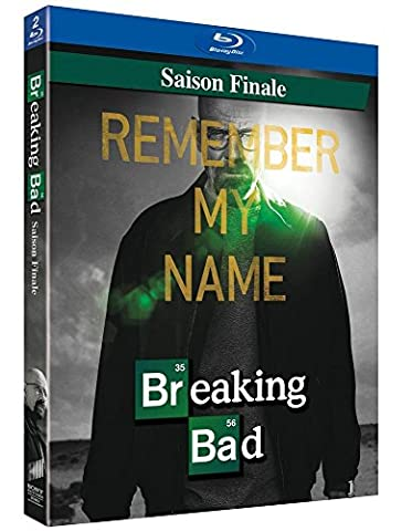 Breaking Bad - Saison Finale (saison 5 2nde partie - 8 épisodes) [Blu-ray + Copie digitale]