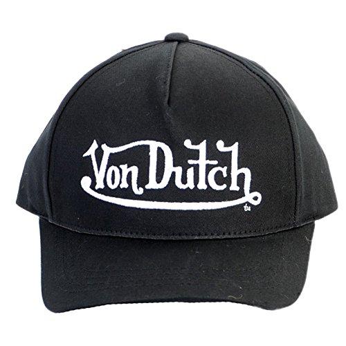taille-unique-casquettes-von-dutch-john-noir